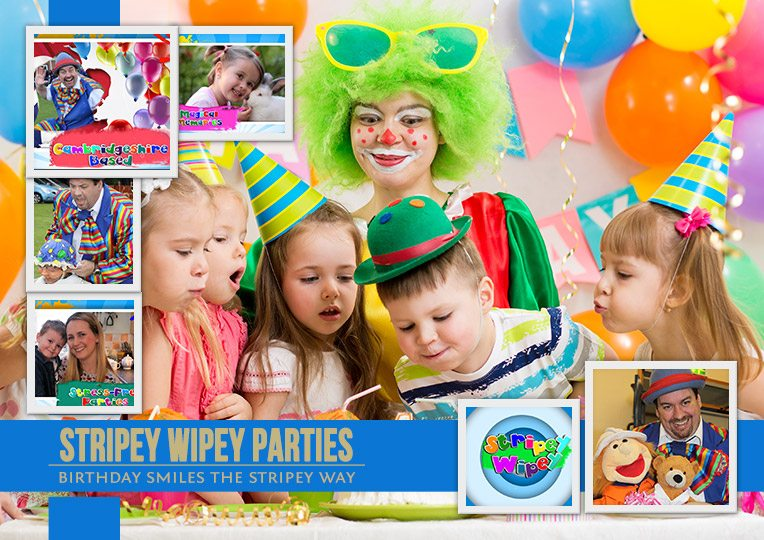 Childrens Entertainer Stripey Wipey Childrens Entertainer - Children's birthday parties high wycombe